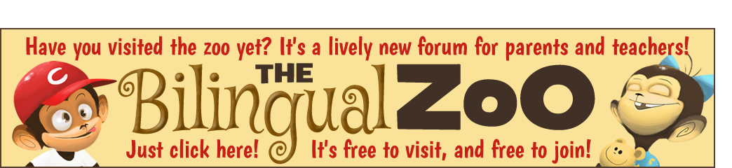 The Bilingual Zoo, a new community for parents and teachers!