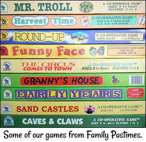 Cooperative games from Family Pastimes