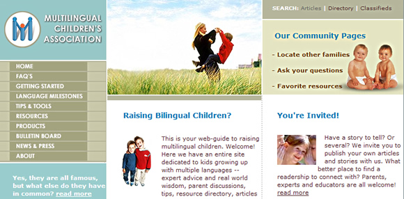 Multilingual Children's Association