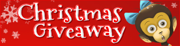 Christmas Giveaway at Bilingual Monkeys!