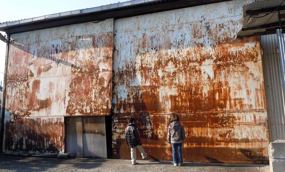 Rusting barn