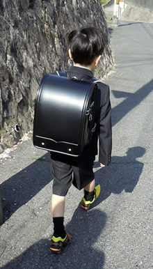 "Can you say ""black backpack"" ten times fast?"