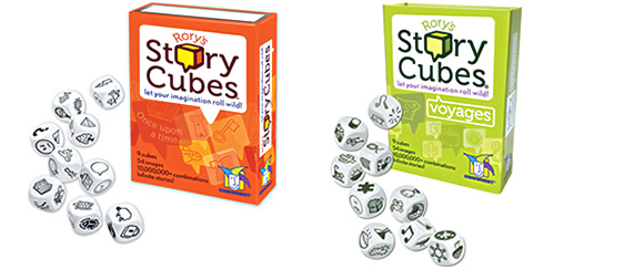 Rory's Story Cubes and Rory's Story Cubes-Voyages