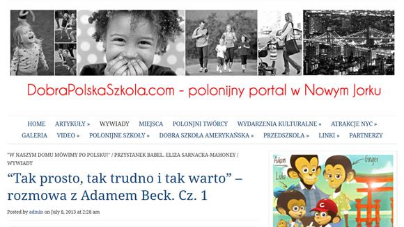 Bilingual Monkeys at Dobra Polska Szkola