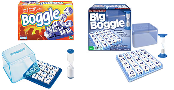 Boggle and Big Boggle