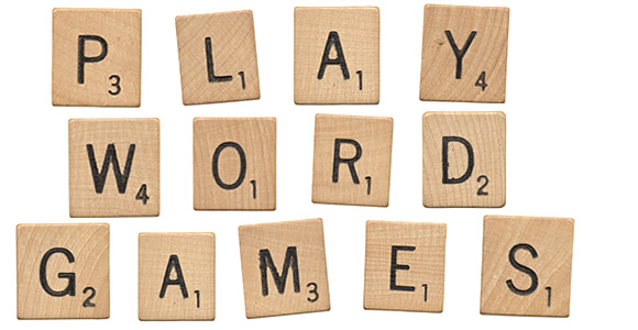 PLAY WORD GAMES