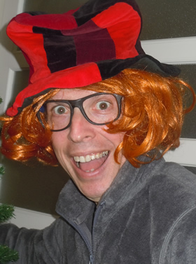 Will my kids remember me in this orange wig?