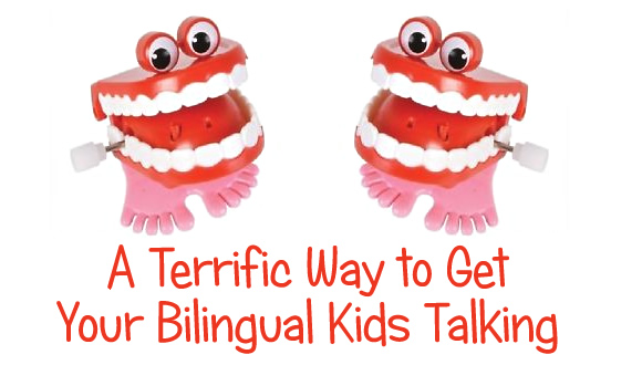 A Terrific Way to Get Your Bilingual Kids Talking