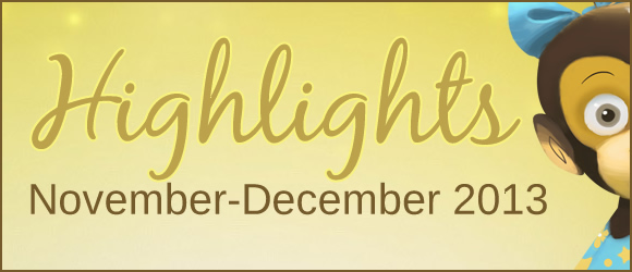 Highlights from Bilingual Monkeys: November-December 2013