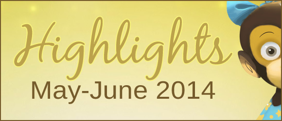 Highlights from Bilingual Monkeys: May-June 2014