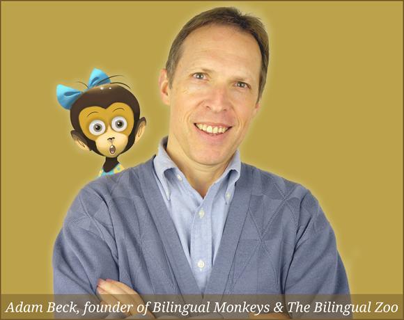 Adam Beck, founder of Bilingual Monkeys & The Bilingual Zoo