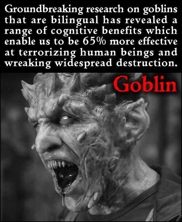 Bilingual Goblin