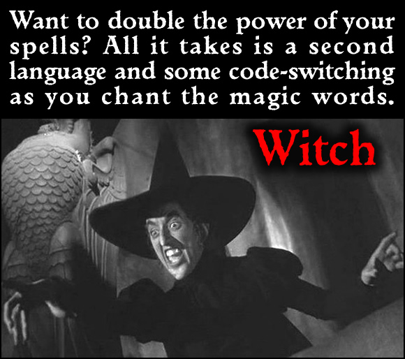 Bilingual Witch