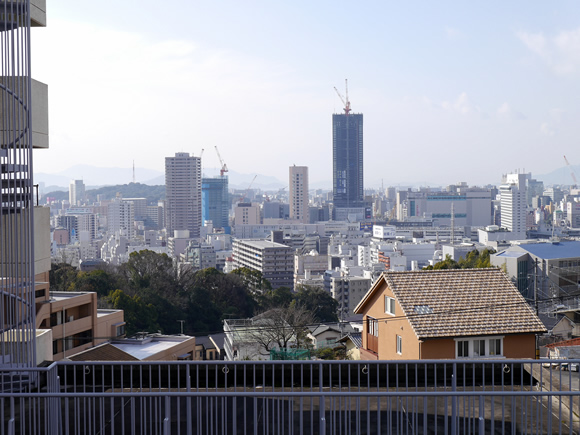 View of downtown Hiroshima
