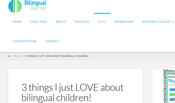 3 things I just LOVE about bilingual children!