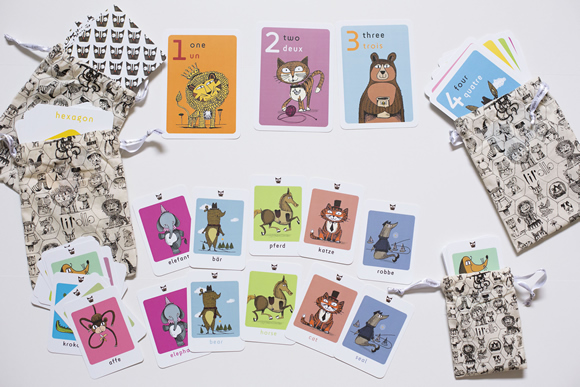 Number and Shape cards, Animal cards
