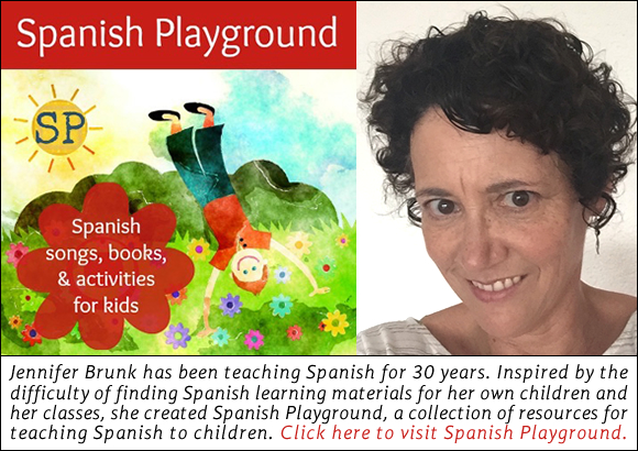 Jennifer Brunk, founder of Spanish Playground