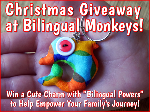 Christmas Giveaway at Bilingual Monkeys