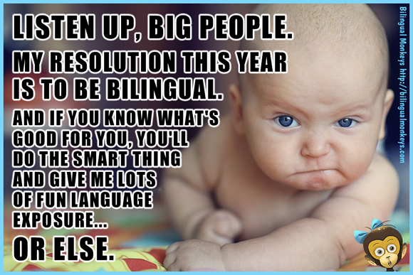 My Resolution This Year Is to Be Bilingual