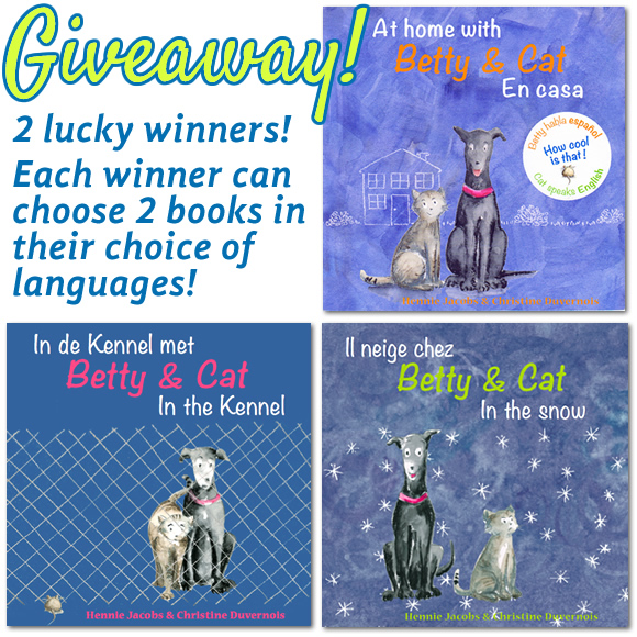 """Giveaway of """"Betty & Cat"""" books"""