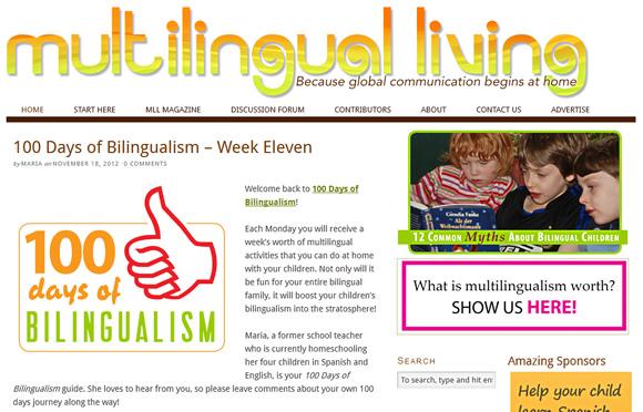 Multilingual Living