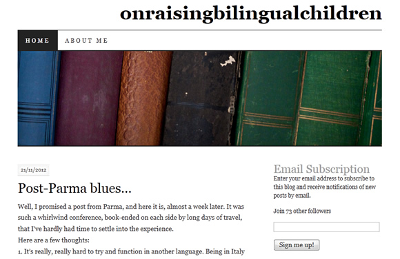 On Raising Bilingual Children