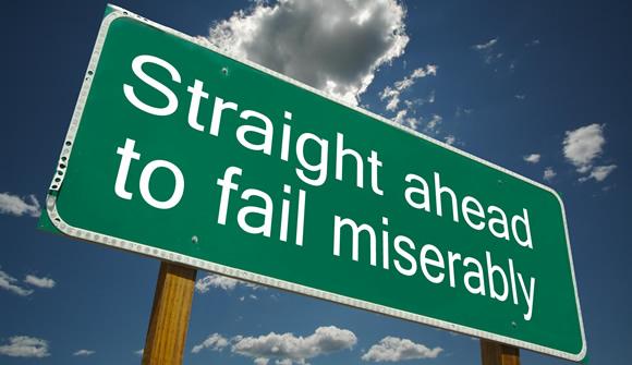 Straight ahead to fail miserably
