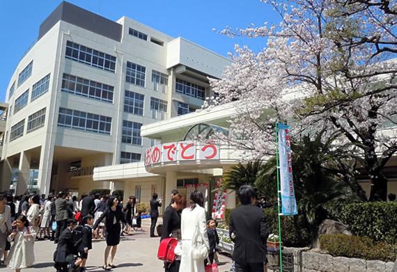 A new school year begins in Japan.