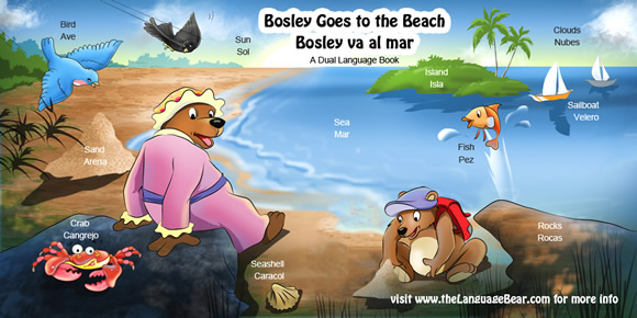 Bosley Goes to the Beach