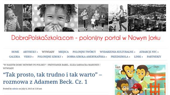Bilingual Monkeys at Dobra Polska Szkola
