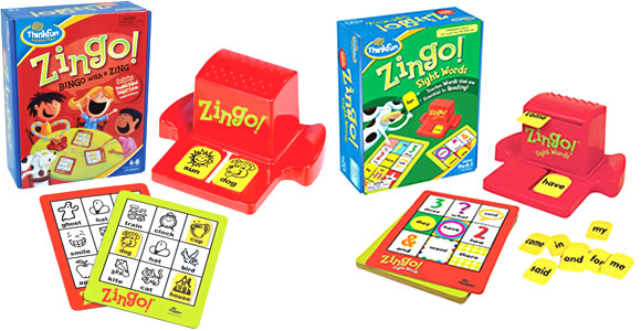 Zingo! and Zingo! Sight Words