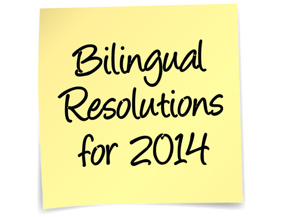 Bilingual Resolutions for 2014