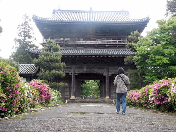 Temple in Hagi