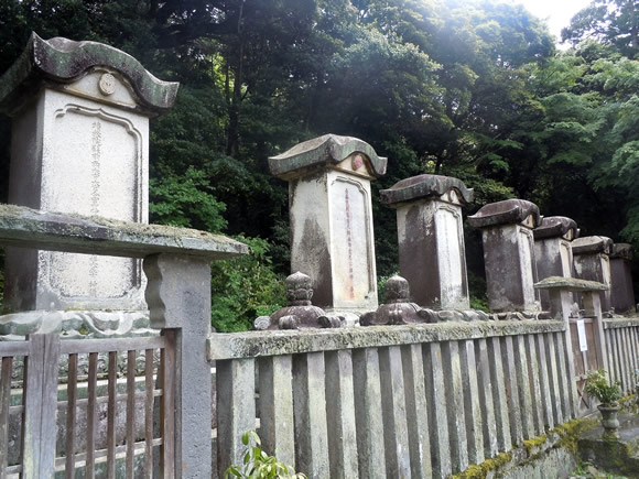 Family tombs