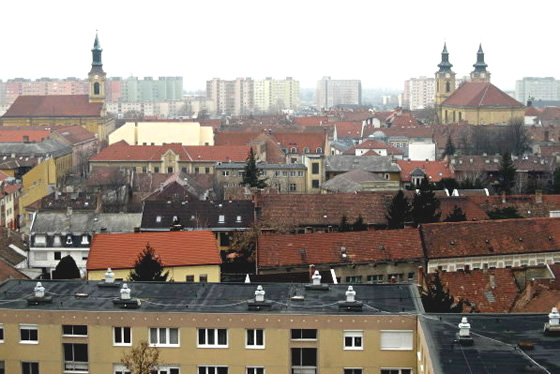 Szekesfehervar, Hungary: Our home for the next month