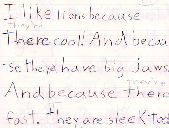 Roy writes about lions.