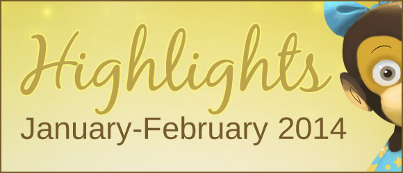 Highlights from Bilingual Monkeys: January-February 2014