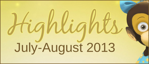 Highlights from Bilingual Monkeys: July-August 2013