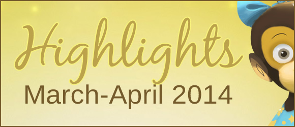 Highlights from Bilingual Monkeys: March-April 2014