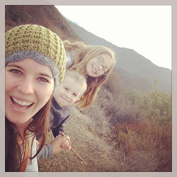 Nathalia and her kids