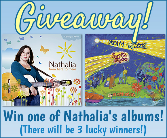 Win one of Nathalia's albums!