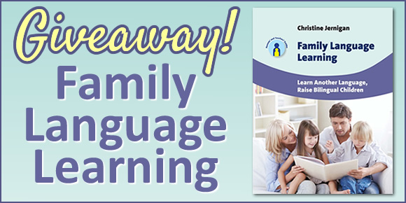 "Giveaway of ""Family Language Learning"""