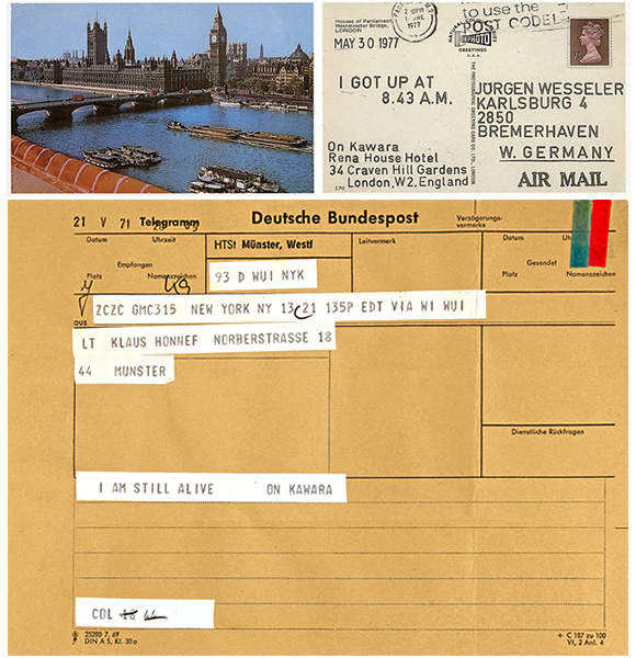 More than 1500 postcards and over 900 telegrams