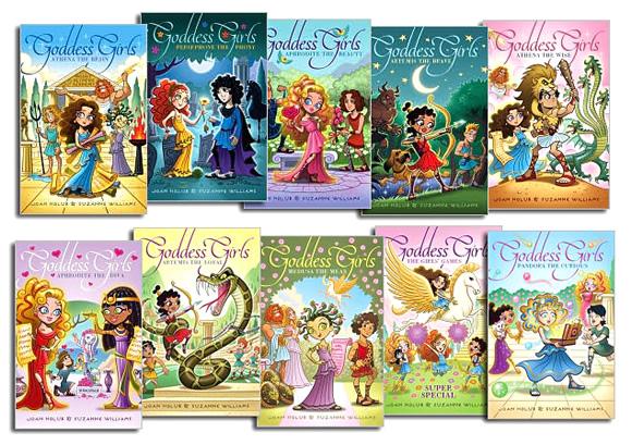 Goddess Girls series