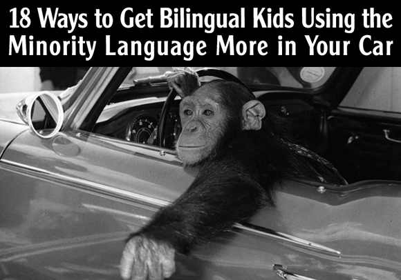18 Ways to Get Bilingual Kids Using the Minority Language More in Your Car