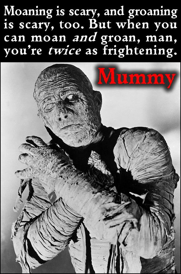 Bilingual Mummy