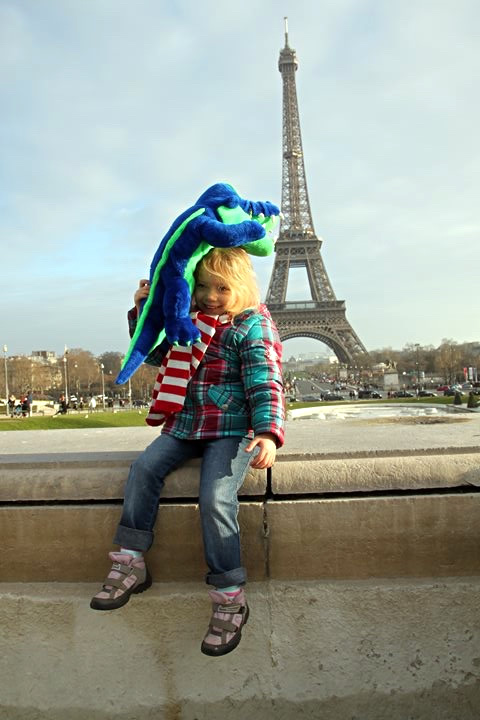 FRANCE: Wow! The Eiffel Tower! I want to bite it!