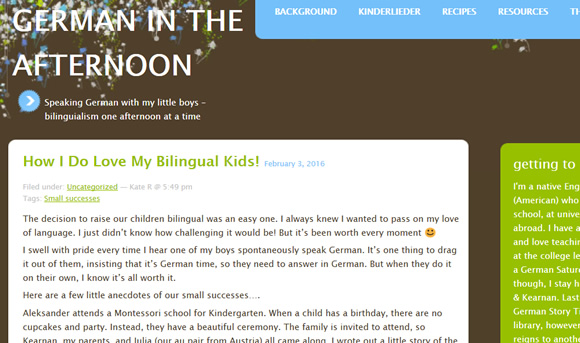 How I Do Love My Bilingual Kids!