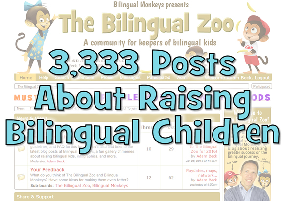 3333 Posts About Raising Bilingual Children