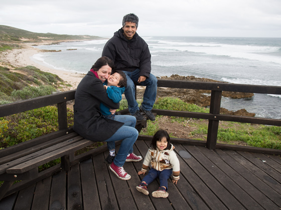 Filipa's trilingual family